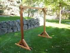 Porch Swing Frame Plan | Standard Frame For Porch Swings - All Garden Benches