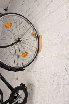 Tokyo  wooden hook for bike storage / bike holder / Bike by twonee
