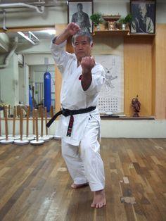 Morio Higaonna Hanshi