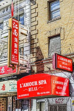 L'Amour Spa In Chinatown, San Francisco mitchellfunk.com