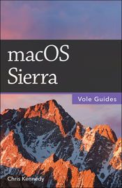 macOS Sierra (Vole Guides) | http://paperloveanddreams.com/book/1154181874/macos-sierra-vole-guides | Perfect for new and longtime Mac users, this no-fluff guide to macOS Sierra is packed with details on system preferences, the desktop, Finder, applications, and utilities. You'll also find step-by-step instructions for printing, scanning, networking, sharing, troubleshooting, and going online. A Windows glossary makes switching to Mac (mostly) painless, and keyboard mavens will find a…