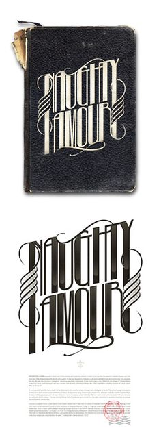 Typeverything.com @typeverything -   Naughty Amour by Andre Beato.
