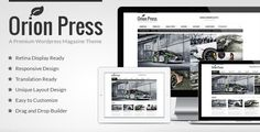 Orion Press - Retina and Responsive Magazine Theme (Blog / Magazine)