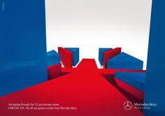 creatividads | Mercedes Benz: Navegación 3D
