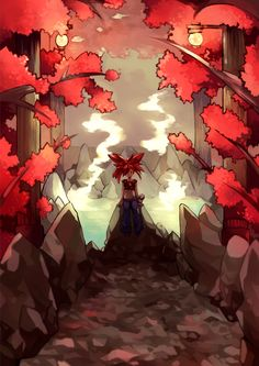 redricewater: Flannery's gym is super pretty! I love the added bath house theme and those red leaves.