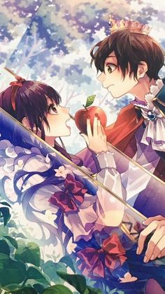 Anime Couples Que hermosooo *w* Happy Tree Friends, Anime Amor, Manga Anime, Koi, Zutto Mae Kara, Honey Works, Cute Couple Comics, Fruits Basket Anime, Cute Anime Couples