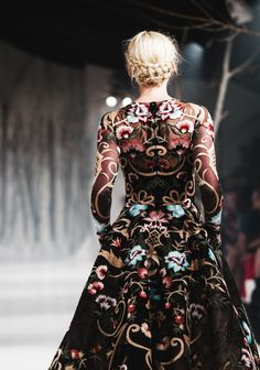 runwayandbeauty: Back Detail - Paolo Sebastian Autumn/Winter...