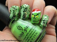 Creative Nail Design by Sue: Let It Snow Challenge-Holiday Movie