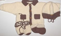 Nytt heklet babysett - hentesett 0/2 mnd Sweaters, Fashion, Moda, Fashion Styles, Pullover, Sweater, Fashion Illustrations, Fashion Models, Sweatshirts