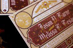 Letterpress Wedding Invitations by Jason Carne - Album on Imgur