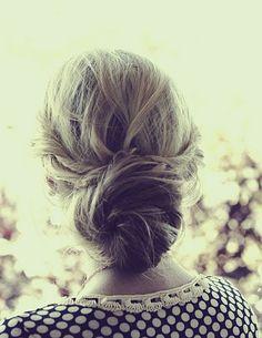 twisted + giveaway winner - Elle Apparel by Leanne Barlow Casual Hairstyles, Elegant Hairstyles, Pretty Hairstyles, Wedding Hairstyles, Twisted Sister Hair, Twist Bun, Hair Strand, Dream Hair, Gorgeous Hair