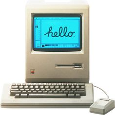 The first Mac had only 128K memory but it had a profound impact on the publishing industry