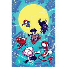 """skottieyoung: """"Web Warriors #youngvariant """""""