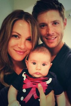 ackles' & baby justice jay