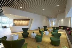 Erich Gassmann and Tina Aßmann have designed the VIP WING Lounge at Munich Airport in Germany.