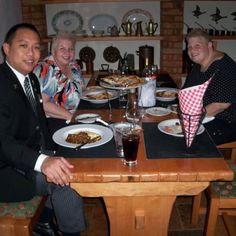 Moms birthday dinner on the Jewel