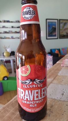 The Traveler Beer Co. - Illusive Traveler Grapefruit Ale = Badda Boom Badda Bing, Betty Boop!