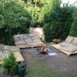Outdoor Pallettensofas
