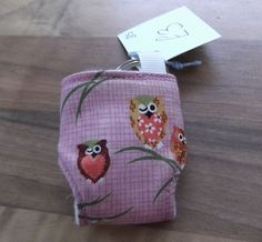 Cloth Diaper Cloth Nappy Mini Keychain Keyring Japanese Owls £3