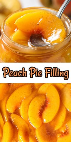 This delicious Peach Pie Filling will really make your homemade pie shine. Syrupy, sweet, and spiced, this is the perfect dessert for summer. #peachpiefilling #homemadepeachpiefilling #peachpiefillingrecipe #bestpeachpiefilling Homemade Blueberry Pie, Homemade Pie, Canning Peach Pie Filling, Canning Peaches, Easy No Bake Desserts, Easter Desserts, Homemade Snickers, Fruit Pie, Pudding Desserts
