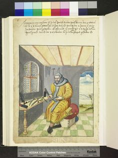 1567. knife maker with file, spectacles, pillow, dovetailed boxes  Die Hausbücher der Nürnberger Zwölfbrüderstiftungen
