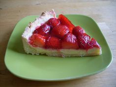 jahodový koláč Bruschetta, Cheesecake, Food And Drink, Strawberry, Fruit, Ethnic Recipes, Party, Desserts, Tailgate Desserts