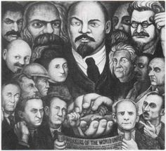 Diego rivera biography and english on pinterest for Diego rivera lenin mural