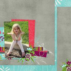 Kit & template, Bohemian by B2N2 Scraps.