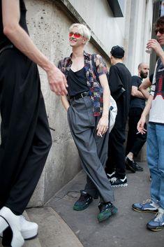 【スナップ】パリ・メンズ・ファッションウイーク 2016年春夏 52 / 109