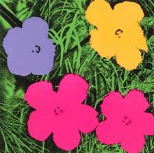Andy Warhol-flowers  1970  pop art