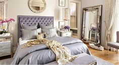 Love the lilac mix with silver, gray and hints of gold