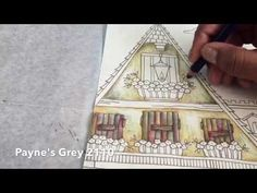 Oldest Clock Tower Part 1 | Derwent Inktense Tutorial | Romantic Country First Tale by Eriy - YouTube