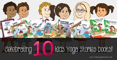 Mega 10 Kids Yoga Stories Giveaway - Kids Yoga Stories