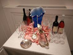 Presentazione bottiglie presso ristorante ALLE BARUFFE CHIOZZOTTE Chioggia