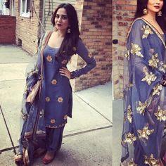 Pinterest@achyi #PunjabiLadiesSuits