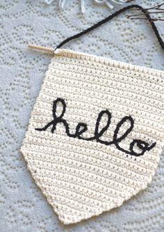 One Sheepish Girl | Hello Crochet Banner Video Class