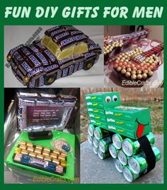 Fun DIY Gifts for Men. Perfect for Father's Day and Birthdays.