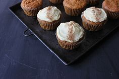 We made gluten free carrot cake cupcakes and decided to share the recipe as it's National Cupcake Week. Gluten Free Carrot Cake, Carrot Cake Cupcakes, Gluten Free Baking, Dessert Recipes, Desserts, Baked Goods, Carrots, Sweet Treats, Muffin
