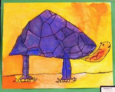 Complimentary Colored Animals Inspired by Fauvism