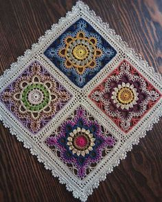 crochet granny squares The Ultimate Granny Square Diagrams Collection ⋆ Crochet Kingdom - The Ultimate Granny Square Diagrams Collection.The Ultimate Granny Square Diagrams Collection ⋆ Crochet Kingdom - SalvabraniHow to Crochet Flower, Make a Gr Motif Mandala Crochet, Crochet Mandala Pattern, Crochet Motifs, Crochet Blocks, Granny Square Crochet Pattern, Crochet Squares, Crochet Doilies, Crochet Flowers, Crochet Patterns
