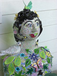 Garden Woman by The Dove Studio, via Flickr  I love love this piece.  Can I have her?