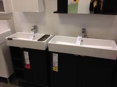 Narrow Bathroom Sink!!! To The Left.