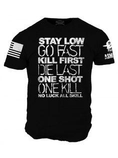 Words of Wisdom T-Shirt - ASMDSS Grunt Style Tee Shirt