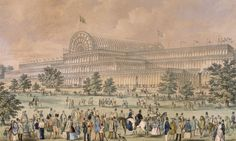 Find out about London's 1851 Great Exhibition that was housed within the Crystal Palace. Discover the link between that and the Victoria and Albert Museum. Le Palais, Grand Palais, Crystal Palace, Hyde Park, Churchill, Palace London, London History, Architectural Antiques, Architectural Styles