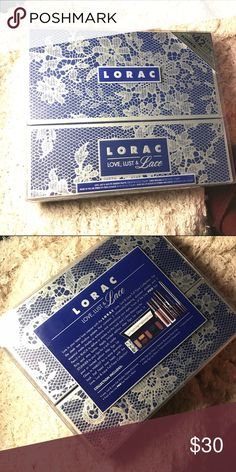 Lorac Love Lust and Lace set Lorac set, including a palette, eyeliner, liquid lipstick, and mascara. Lorac  Makeup Eyeshadow