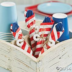 For a Nautical Baby Shower Theme