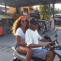 Beyoncé, Jay Z & Blue Blue at Phuket Fantasea in Thailand December 2014