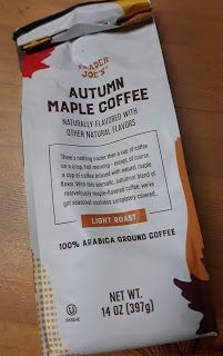 Maple and coffee. Coffee and maple. Chicken And Donuts, Coffee Tasting, Trader Joe's, Gingerbread, Beverages, Dessert, Autumn, Breakfast, Dessert Food