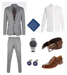 """Без названия #8"" by hyzirt on Polyvore featuring Emporio Armani, Vivienne Westwood Man, Warfield & Grand, Valentino, HUGO, Hermès, Dunhill, men's fashion и menswear"