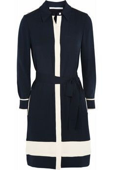 Diane von Furstenberg Cadence silk shirt dress | NET-A-PORTER